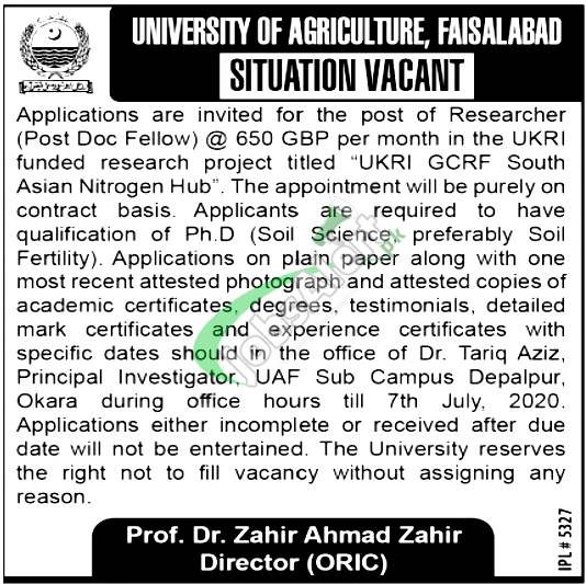 Researcher Jobs