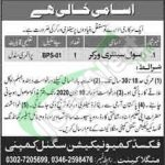 Civil Sanitary Worker Jobs
