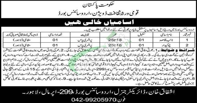 Naib Qasid Jobs