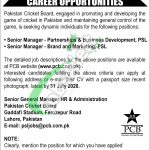 PSL Jobs