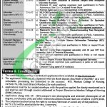MTI Mardan College of Nursing Jobs