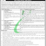 Agriculture University Peshawar Jobs
