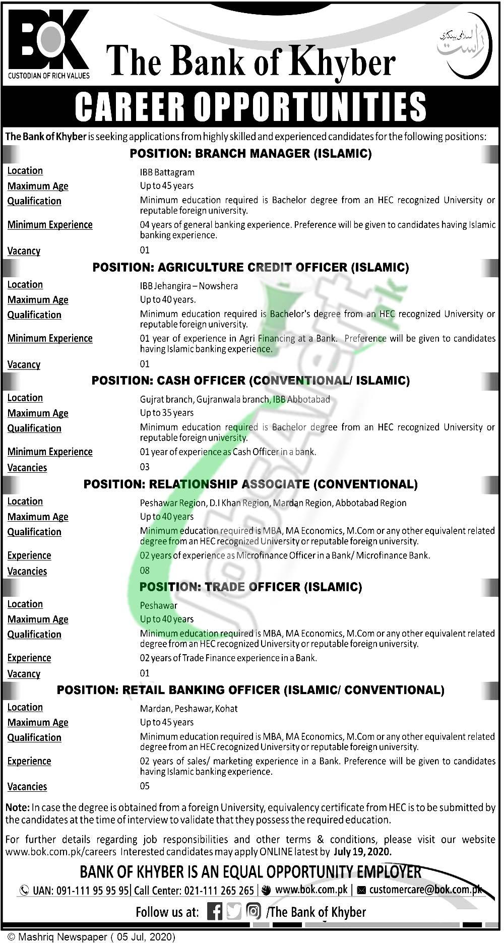 Trade Officer Jobs