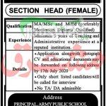 Section Head Jobs
