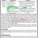 WSSC Bannu Jobs