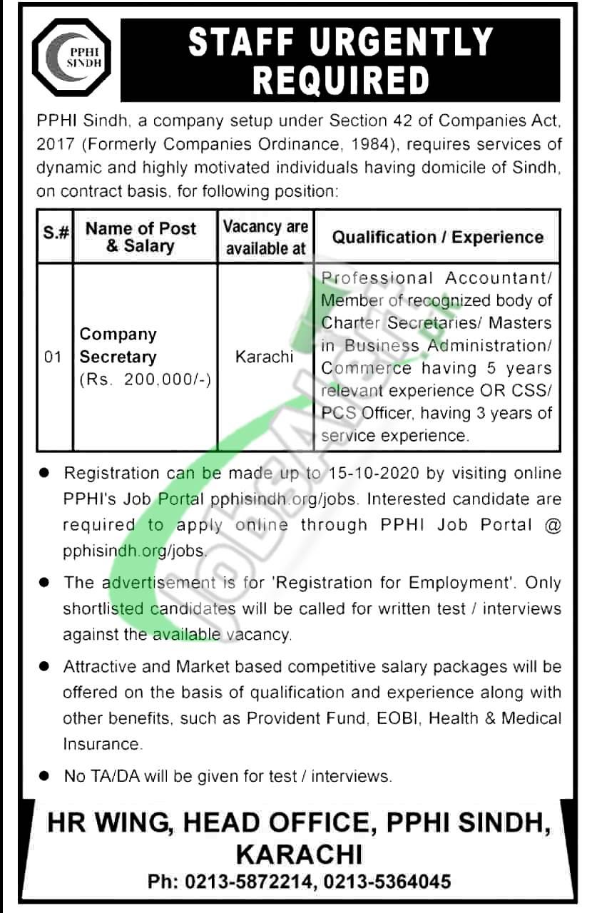 PPHI Jobs