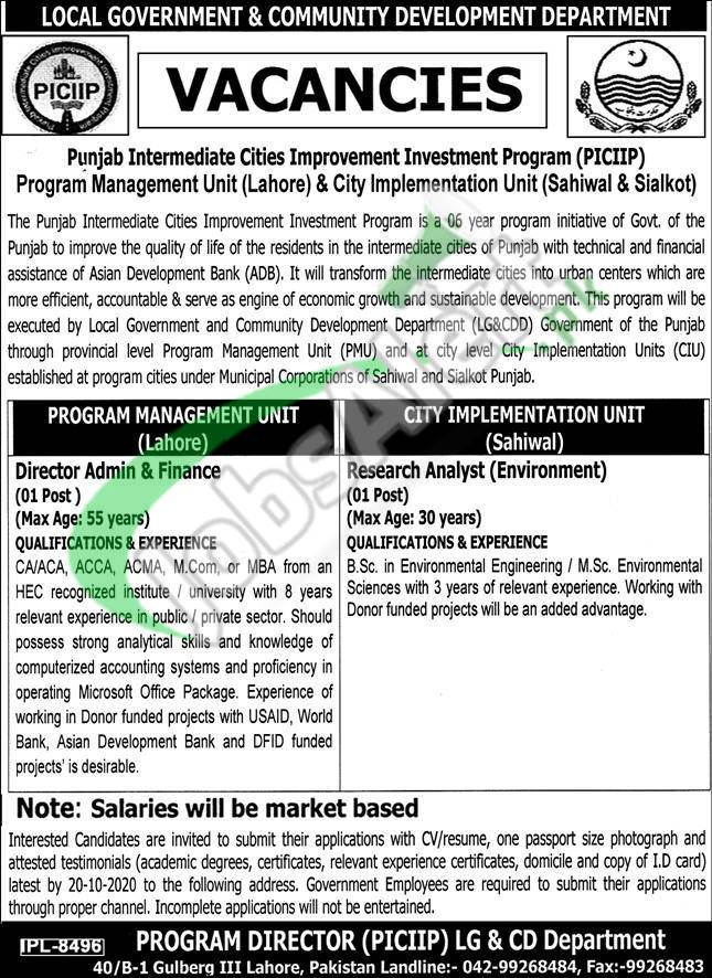 Local Government and Community Development Jobs
