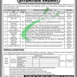 PO Box 1403 Peshawar Jobs