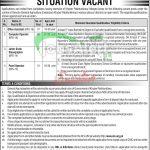 Directorate General Agriculture KPK Jobs