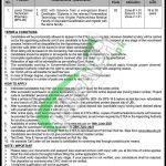 Mines Labour Welfare KPK Jobs