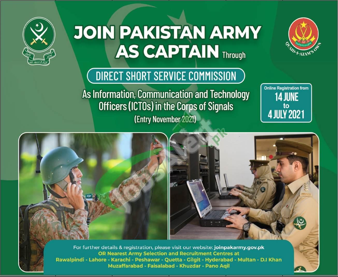 ICTO Pak Army 2021