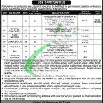 Pak Army Ordnance Depot Kashmore Jobs