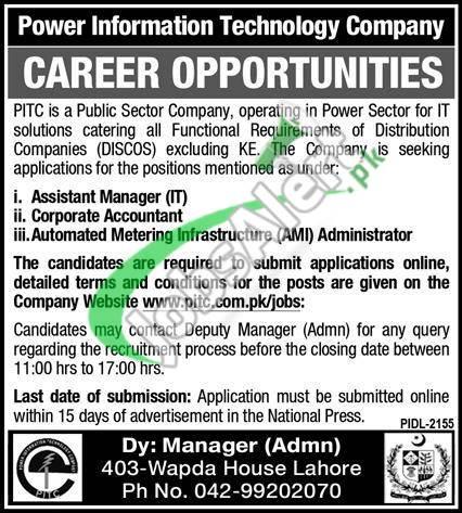 Power Information Technology Company Jobs