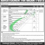 Ammunition Depot Lahore Jobs