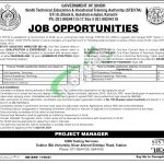 Sindh Technical Education & Vocational Training Authority Jobs