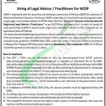 WSSP Peshawar Jobs 2021