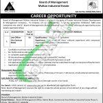 Board of Management Multan Industrial Estate Jobs