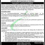 PWD Islamabad Jobs
