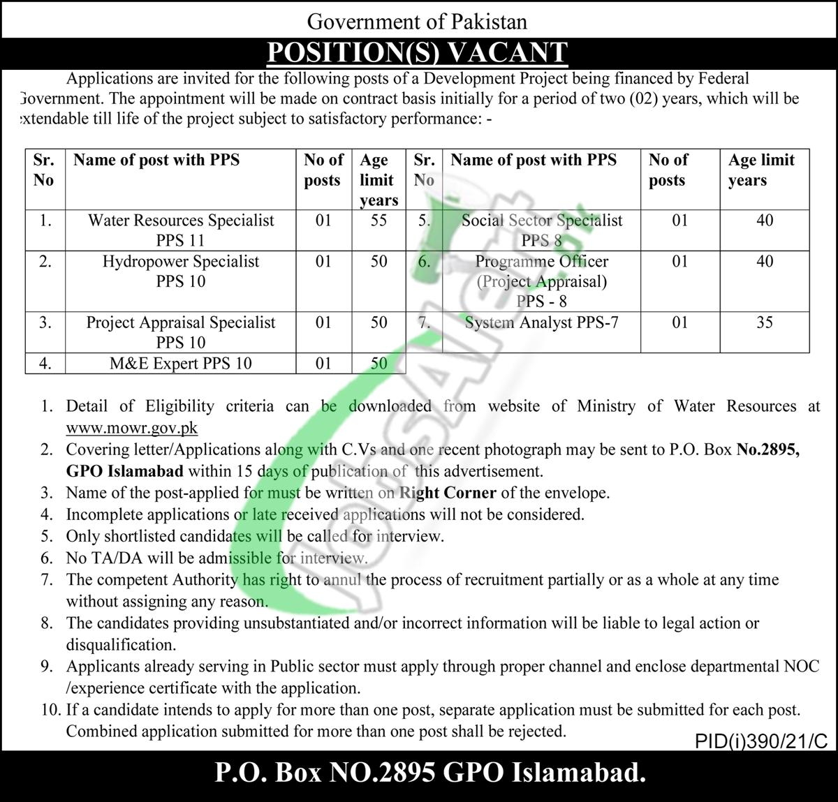 PO Box 2895 Jobs
