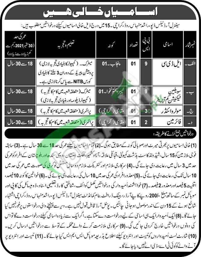 COD Karachi Jobs