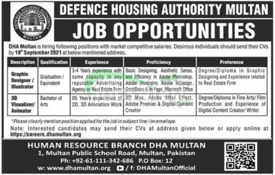 DHA Multan Jobs