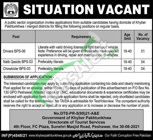 PO Box 130 GPO Peshawar Jobs