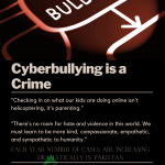 How to repost of file a case Cyberbullying in Pakistan
